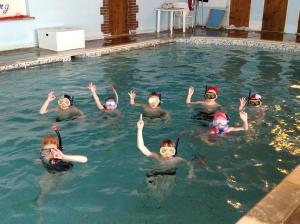 Children-in-pool